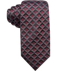 Alfani - Men's Geometric Silk Slim Tie - Lyst
