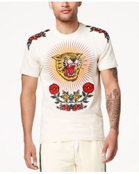 Reason - World Class Embroidered T-shirt - Lyst