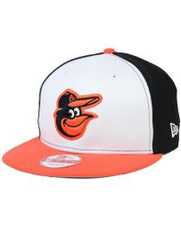 quality design 964f0 2d26d KTZ Baltimore Orioles Tropic Time 9Fifty Snapback Cap in Black for Men -  Lyst