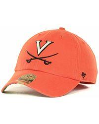47 Brand - Virginia Cavaliers Franchise Cap - Lyst