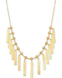 Macy's - Cleopatra Collar Necklace In 10k Gold - Lyst