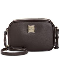 Dooney & Bourke - Saffiano Leather Sawyer Crossbody - Lyst