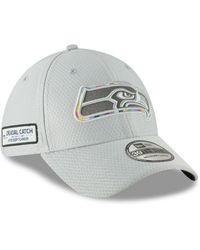 more photos 84e0e 8bd30 KTZ Seattle Seahawks Cold Weather Knit Hat in Green for Men - Lyst