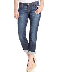 Kut From The Kloth - Catherine Boyfriend Cuffed Jeans - Lyst