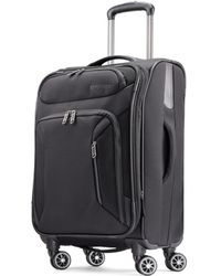 """American Tourister - Zoom 21"""" Softside Spinner Suitcase - Lyst"""