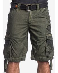 Affliction - Men's Rusted Template Cargo Shorts - Lyst