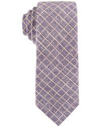 Con.struct - Con.struct Men's Grid Slim Tie - Lyst