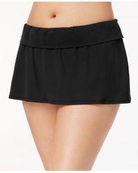 Bleu Rod Beattie - Plus Size Tummy-control Swim Skirt - Lyst