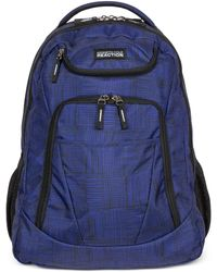 Kenneth Cole Reaction | Tribute Backpack In Griddle Blue | Lyst