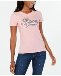 Tommy Hilfiger - Love T-shirt, Created For Macy's - Lyst