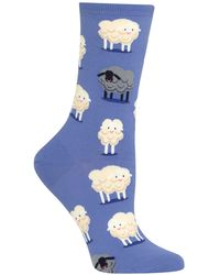 Hot Sox Black Sheep Fashion Crew Socks