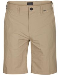 """Hurley - Dry Fit 21"""" Chino Shorts - Lyst"""