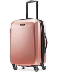 """American Tourister - Moonlight 21"""" Hardside Expandable Carry-on Spinner Suitcase - Lyst"""