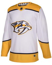 adidas - Nashville Predators Authentic Pro Jersey - Lyst