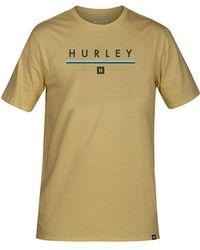 Hurley - Simzy Logo Graphic T-shirt - Lyst