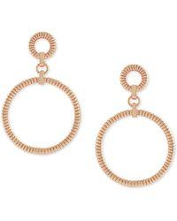 Vince Camuto - Chain Link Hoop Earrings - Lyst