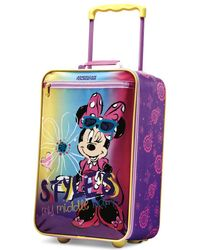 """Disney - Minnie Mouse 18"""" Rolling Suitcase By American Tourister - Lyst"""