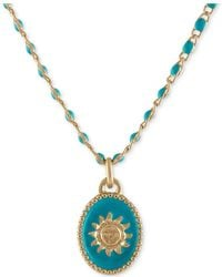 "RACHEL Rachel Roy - Gold-tone Sun Beaded Pendant Necklace, 16"" + 2"" Extender - Lyst"