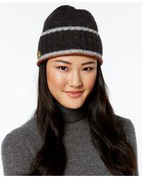 Anne Klein - Cuff Hat - Lyst