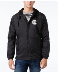 KR3W | Men's Coaches Graphic Print Logo Hooded Jacket | Lyst