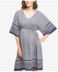 Wendy Bellissimo | Maternity Printed Dress | Lyst