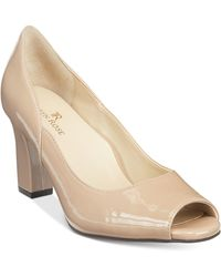 Taryn Rose - Francis Block-heel Court Shoes - Lyst
