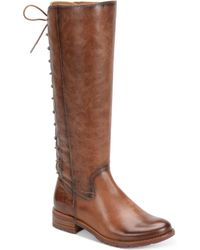 Söfft - Sharnell Tall Lace-up Boots - Lyst