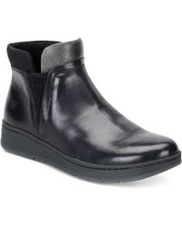 Born - Zyba Ankle Booties - Lyst