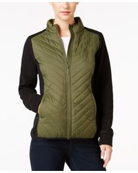 G.H.BASS - Quilted Zip-front Jacket - Lyst