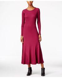 G.H.BASS - Waffle-knit Maxi Dress - Lyst
