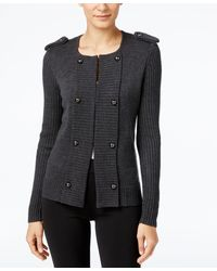 Cable & Gauge - Military Sweater Jacket - Lyst