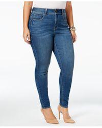 American Rag - Griffith Blue Wash Skinny Jeans - Lyst