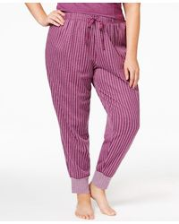 Alfani | Plus Size Jacquard Pajama Jogger Pants, Only At Macy's | Lyst
