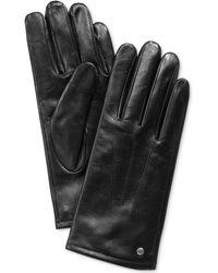 Michael Kors - Leather Tech Gloves - Lyst