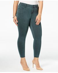 Celebrity Pink - Trendy Plus Size Colored Wash Jeggings - Lyst