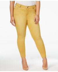 Forever 21 Colored Skinny Jeans in Red  Lyst
