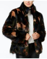 Wildflower - Faux-fur Coat, Only At Macy's - Lyst