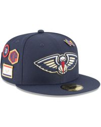 brand new abbbb 02ed3 KTZ New York Knicks City On-court 59fifty Fitted Cap in Blue for Men - Lyst