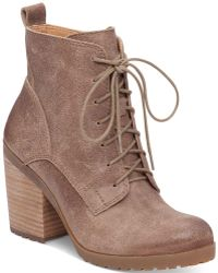 Lucky Brand - Women's Orsander Lace-up Booties - Lyst