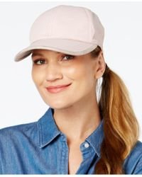 August Accessories - Water-resistant Baseball Cap - Lyst