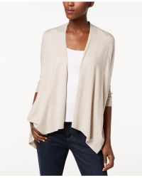 Eileen Fisher - ® Draped Open-front Cardigan - Lyst