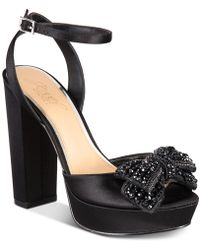 445e1be5f1b8 Badgley Mischka - Zina Evening Sandals - Lyst