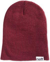 Neff - Men's Beanie Hat - Lyst