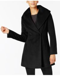 Trina Turk - Asymmetrical Walker Coat - Lyst