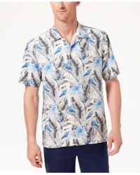 Tommy Bahama - Tulum Bloom Silk Shirt - Lyst