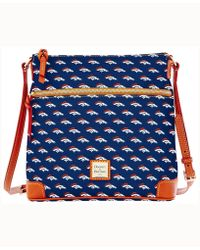 Dooney & Bourke - Denver Broncos Crossbody Purse - Lyst