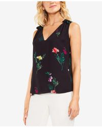 Vince Camuto - Tropical Garden Sleeveless Blouse - Lyst