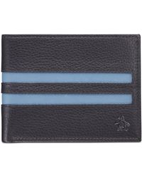 Original Penguin - Striped Leather Wallet - Lyst