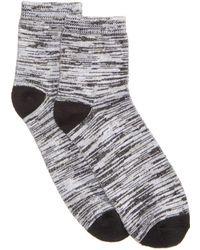 Hue - ® Super-soft Cropped Socks - Lyst