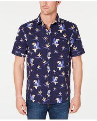 Tommy Bahama - Toucan Do Tropical Stripe Print Hawaiian Shirt - Lyst
